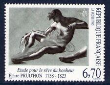 TIMBRE 2927 NEUF XX LUXE -PIERRE PRUD'HON - ETUDE POUR LE REVE DU BONHEUR