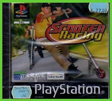 SCOOTER RACING monopattino NUOVO ps1 SIGILLATO playstation play1