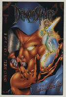 Demonslayer Into Hell #2 2000 Tincan Man Preview Marat Mychaels Image Comics