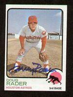 Doug Rader #76 signed autograph auto 1973 Topps Baseball Trading Card