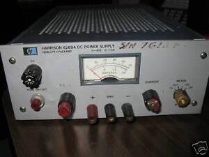 HP 6289A DC Power Supply, 0-40 V / 0-1.5 A,