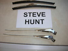"VOLVO P1800 P1800E WIPER ARMS AND 11"" BLADES RH PARK STEVE HUNT WIPERS"