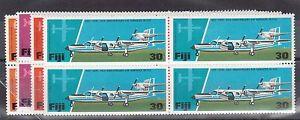 Fiji #367 - #370 VF/NH Block Set