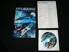 Battlecruiser Millennium  (PC, 2001) rare Disc with instructions and commands CD