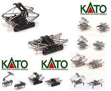 KATO 11-401 COPPIA PANTOGRAFI METALLO-PLASTICA NERA TIPO FS Pantographs SCALA-N
