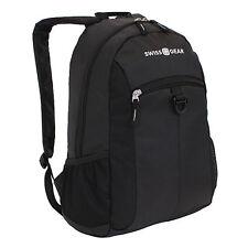 """Brand New SwissGear Student Backpack For 15"""" Laptops, Black"""