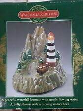 New Listing2000 Mr Christmas Collectibles Waterfall Lighthouse