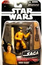 Star Wars SAGA Action Figure - #50 Naboo Soldier (Yellow) (2006)