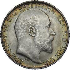 More details for 1902 florin - edward vii british silver coin - superb