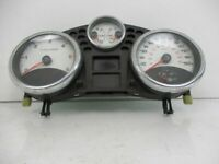 Compteur de Vitesse Instrument km/H Mph Blanc Cadrans à Chiffres Peugeot 207 Sw