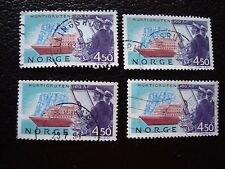 NORVEGE - timbre yvert et tellier n° 1085 x4 obl (A30) stamp norway