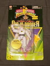 Mighty Morphin Power Rangers 1995 Twirling Action White Ninja Ranger