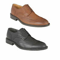 Mens Formal Casual Laceup Leather Brogues Shoes Office Party Size 6 7 8 9 10 11