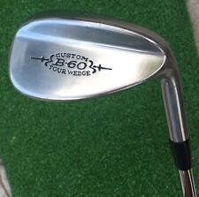Right Handed Bristol B-60 Custom 60° Tour Wedge with Steel Shaft Golf Club