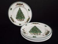 Johnson Bros. Victorian Christmas Dinner Plates (5) England