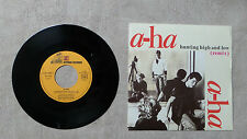 "VINYLE 45T 7"" SP MUSIQUE / A-HA ""HUNTING HIGH AND LOW (REMIX)"" 1986 / 926 663-7"