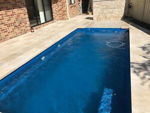 FRANKSPOOLS - Fibreglass Pools / Fibreglass Swimming Pools 6.2 x 3.0 mtr Nova