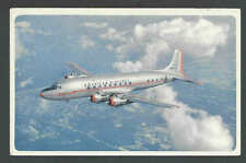 PPC* American Airlines DC-6 Flagship Good Card Mint Has Corner Crease