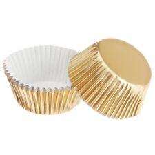 Wilton 36 Mini Pirottini Oro Pirottino Gold per Mini Cup Cake e Muffin Natale
