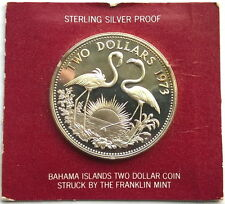 North & Central America Bahamas Bahamas 5 Cents 1973 Proof #p29 483alb29