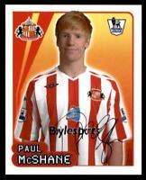 Merlin Premier League 2007/08 Paul McShane Sunderland No. 539