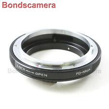 Macro AF Confirm Canon FD Mount Lens to Nikon F Camera Adapter D750 D3200 D5200