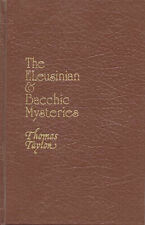 Secret Doctrine Reference Ser.: Eleusinian and Bacchic Mysteries by Thomas Taylor (1988, Hardcover, Reprint)
