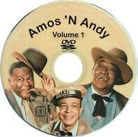 AMOS AND ANDY DVD COMPLETE COLLECTION NEW N GREAT COMEDY, ALL 75 SHOWS