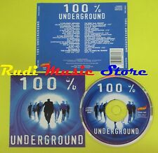 CD 100% UNDERGROUND compilation COLONEL ABRAMS BARBARA TUCKER no lp mc dvd vhs