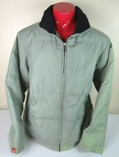 Vintage 90s Guess Mens Size XL Coat Jacket Goose Down Puffer Parka Green / Gray