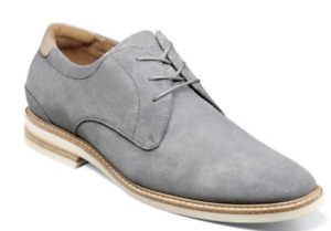 Florsheim Highland Plain Toe Oxford Dress Shoes Gray Suede 14272-061 Ships free