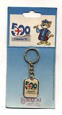 Portachiavi Key-Ring Cristoforo COLOMBO 92 500 anniversario Keychain 1992 Genova