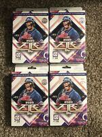2020 Topps Fire Unopened Hanger Box Lot (4) Acuna Robert Tatis