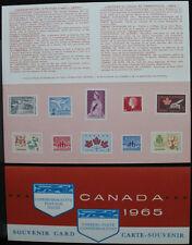 1965 CANADA SOUVENIR COLLECTION CARD 7 --- RARE Extra Fair