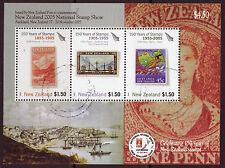 NEW ZEALAND 2005 NATIONAL STAMP SHOW, AUKLAND MINIATURE SHEET FINE USED