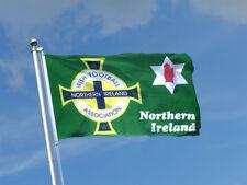 OFFICIAL NI NORTHERN IRELAND GAWA IRISH FOOTBALL OUR WEE COUNTRY GREEN FLAG