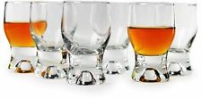 Circleware 42793 Tipsy Shot Glasses Set of 6 1.7 ounce Clear Limited Edition ...