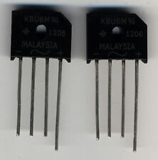 Lot de 2 diodes by223 1500 V 6 10A Philips nos