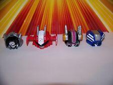 Power Rangers Operation Overdrive Triple Transforming Megazord Parts Lot Head X4
