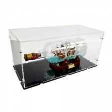 Acryl Vitrine für Lego 21313 Schiff in der Flasche - NEU