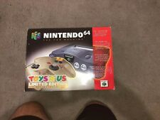 Nintendo 64 Limited Edition Gold Controller Edition Empty Box—-Extremely Rare