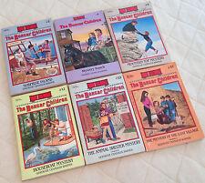 LOT OF 6 CHILDREN'S KIDS CHAPTER BOOKS The Boxcar Children, Gertrude Warner