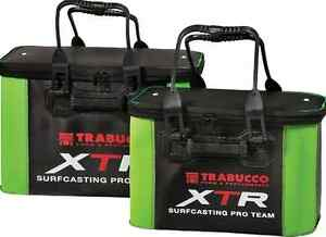 surf fishing luggage  Trabucco.drop Bucket and two sizes EVA collapsible bag