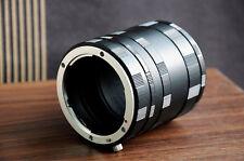 3 Ring Macro Extension Tube for Nikon D7200 D5500 D3300 D610 D750 D90 D810 D760