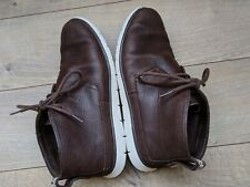 Men's UGG Australia Freamon Espresso Brown Leather Lightweight Chukka Boots US 9