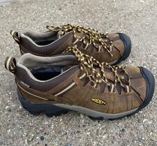 Keen Targhee II Shoes Cascade Brown/golden Yellow Size 10 EE Wide Hiking
