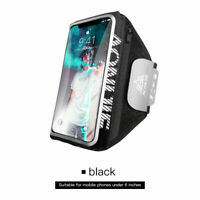1*Cycling Phone Holder Case Gym Fitness Arm Band Bag Outdoor Running Ultralight