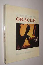INTRODUCTION TO ORACLE - MICHAEL BRONZITE - EN INGLES