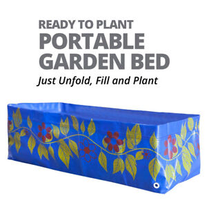 Portable Raised Planter Boxes - Just Unfold, Fill and Plant - Ready To Plant