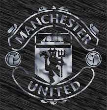 Stencil Manchester United logo Football Reusable Pattern Wall Art Sport
